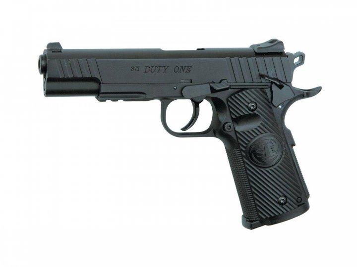 Пистолет пневм. ASG STI Duty One 4,5 мм - зображення 1