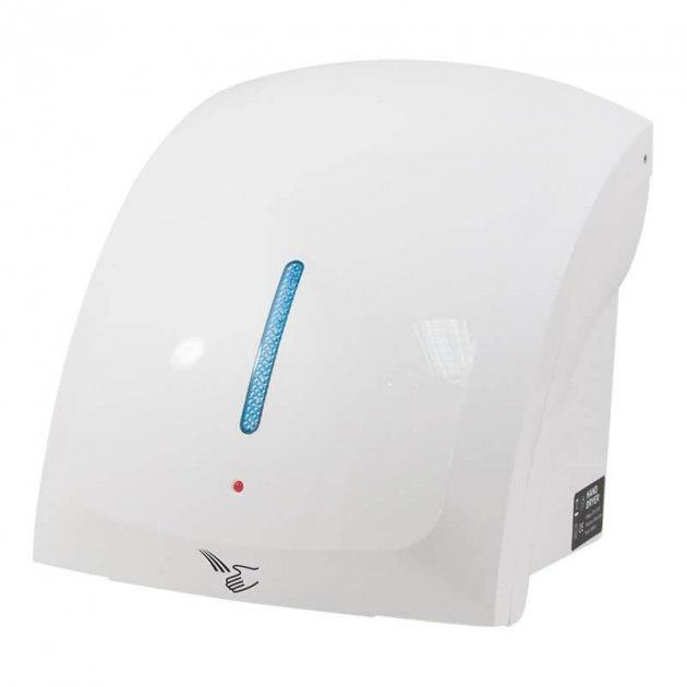 Автоматична сушарка для рук Trento 1800W led біла - зображення 1