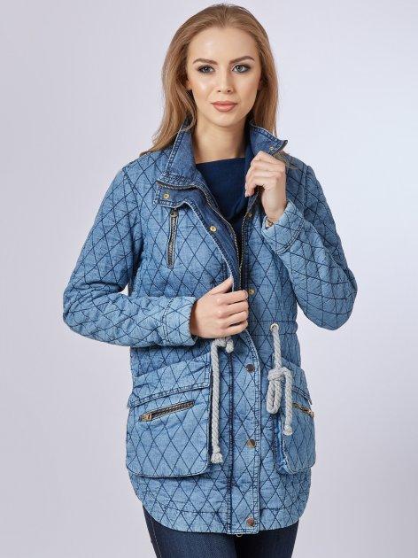 Джинсовая куртка Mila Nova Q-24 44 Синяя (2000000009568) - изображение 1