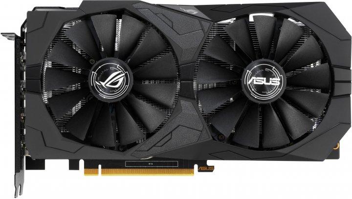 Asus PCI-Ex GeForce GTX 1650 ROG Strix Gaming O4G 4GB GDDR5 (128bit) (1485/8000) (2 x DisplayPort, 2 x HDMI 2.0b) (ROG-STRIX-GTX1650-O4G-GAMING) - зображення 1