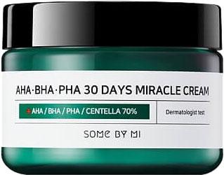 Крем для лица Some By Mi AHA/BHA/PHA Pha 30 Days Miracle Cream для проблемной кожи 50 мл (8809326334224) - изображение 1