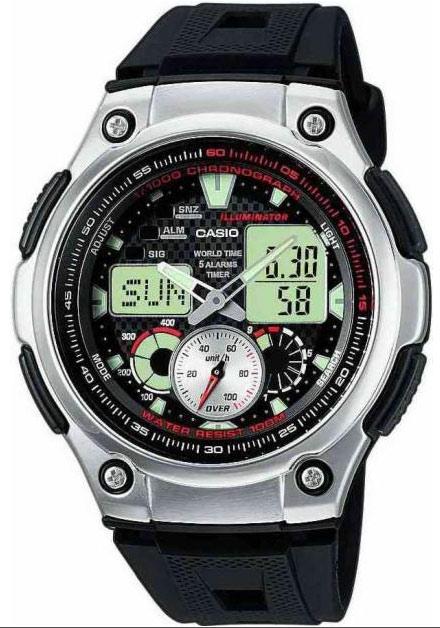 Мужские часы Casio AQ-190W-1AVEF - изображение 1