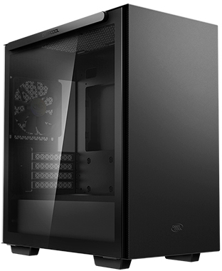 Корпус DeepCool Macube 110 Black - зображення 1