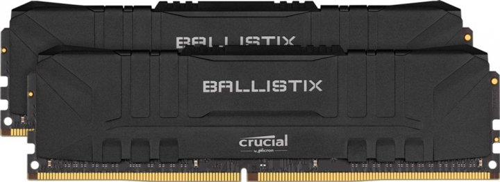 Оперативна пам'ять Crucial DDR4-3000 32768MB PC4-24000 (Kit of 2x16384) Ballistix Black (BL2K16G30C15U4B) - зображення 1