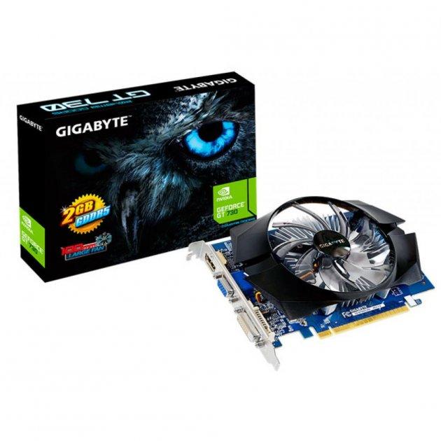 Відеокарта GeForce GT730 2048Mb GIGABYTE (GV-N730D5-2GI) - зображення 1