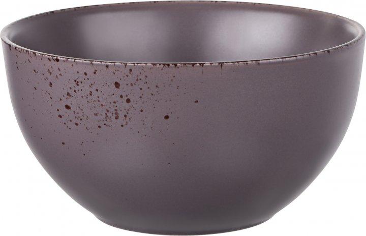 Салатник Ardesto Lucca Grey brown Коричневый 14 см (AR2914GMC) - изображение 1
