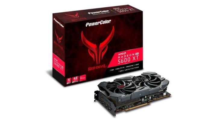 Відеокарта AMD Radeon RX 5600 XT 6GB GDDR6 Red Devil PowerColor (AXRX 5600XT 6GBD6-3DHE/OC) - зображення 1