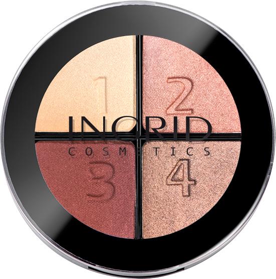 Тени для век Ingrid Cosmetics Smoky Eyes 116 4 цвета 7 г (5907619823974) - изображение 1