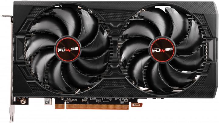 Sapphire PCI-Ex Radeon RX 5600 XT BE 6G Pulse OC 6GB GDDR6 (192bit) (1620/14000) (2 x HDMI, 2 x DisplayPort) (11296-05-20G) - зображення 1