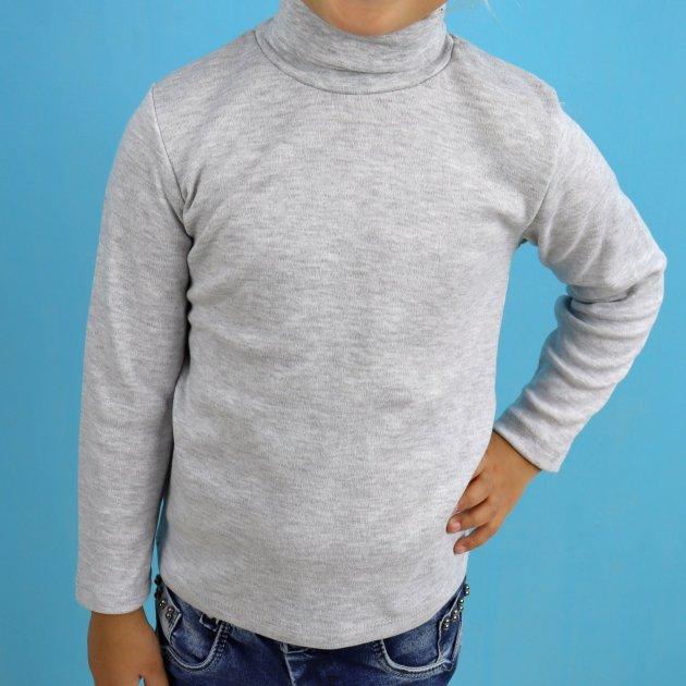 Водолазка для мальчика SEYGI (0116сер) Рост 134 см Серый - изображение 1