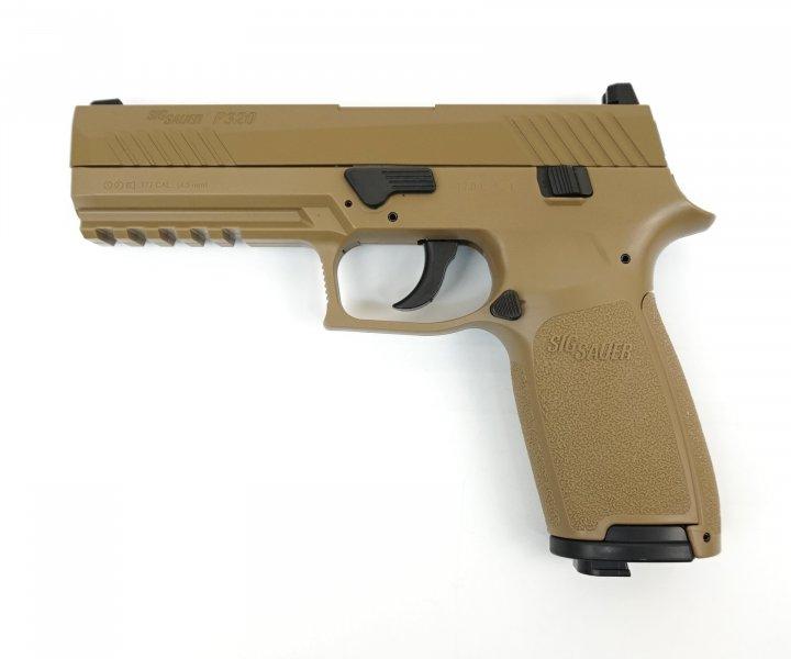 Пістолет пневматичний Sig Sauer Air P320 Coyote Tan (1625.01.45) - зображення 1