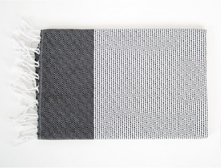 Пляжное полотенце Irya Alaz siyah 90х170 (SVT-2000022199896) - изображение 1
