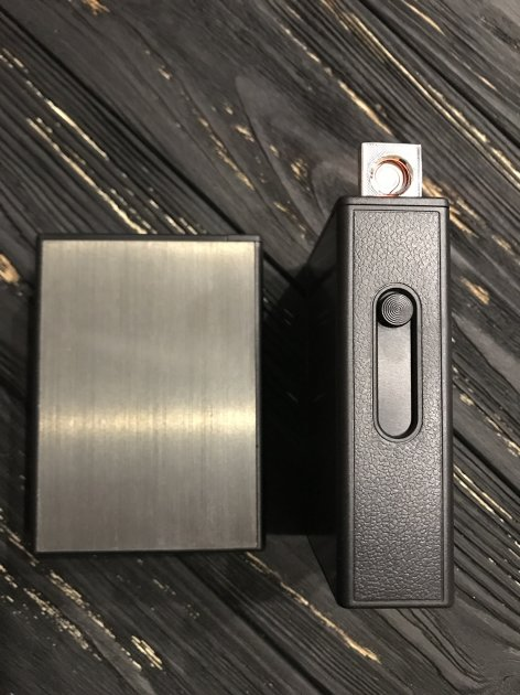 Портсигар с зажигалкой и выбросом сигарет на 20 сигарет купить в заказать электронную сигарету в иркутске