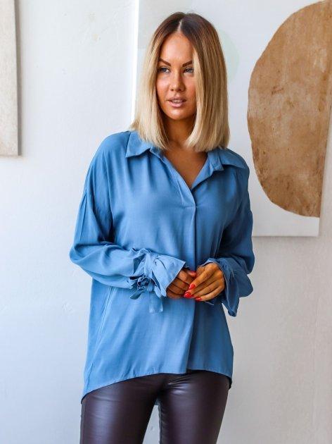Блуза DNKA с41497/1 50-52 Джинсова (2000000515151) - зображення 1