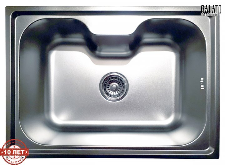 Кухонна мийка Galati Bella Satin (9657) - зображення 1