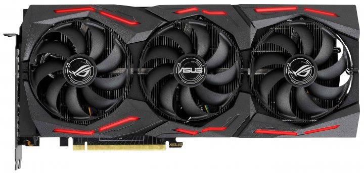 Asus PCI-Ex GeForce RTX 2070 Super ROG Strix 8GB GDDR6 (256bit) (1605/14000) (USB Type-C, 2 x HDMI, 2 x DisplayPort) (ROG-STRIX-RTX2070S-8G-GAMING) - зображення 1