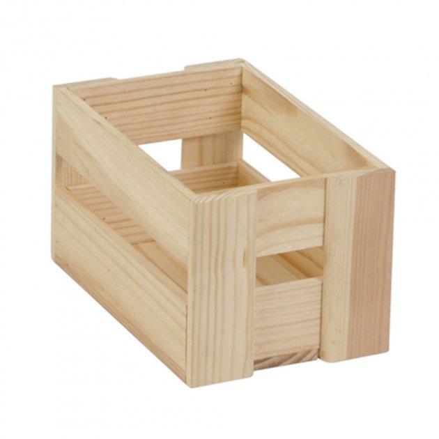 Ящик рейковий з дерева серії Аігу (10х11х17 см) WoodMood - зображення 1