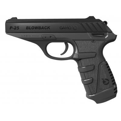 Пневматичний пістолет Gamo P-25 Blowback (6111378) - зображення 1