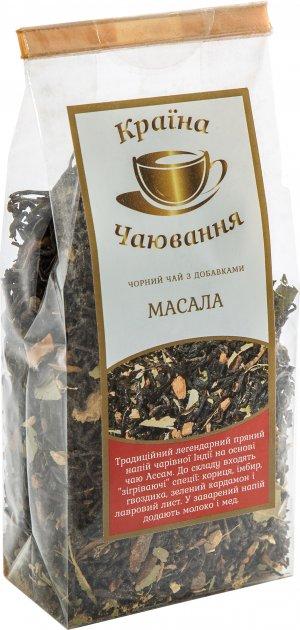 Черный чай со специями Країна Чаювання Масала Чай 100 г (4820230050479) - изображение 1