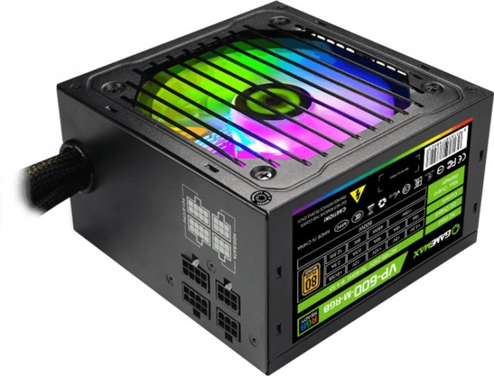 GameMax VP-600-M-RGB 600W - зображення 1