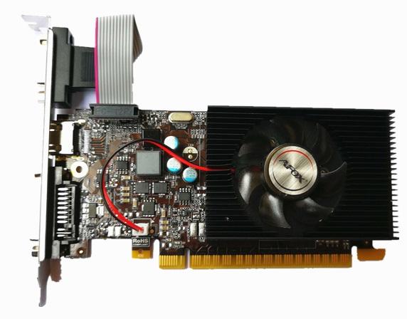 Відеокарта Afox GeForce GT730 2GB DDR3 (AF730-2048D3L6) (6597208) - зображення 1