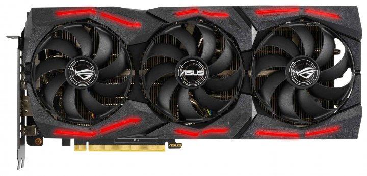 Asus PCI-Ex GeForce RTX 2060 Super ROG Strix A8G Gaming EVO V2 8GB GDDR6 (256bit) (1470/14000) (2 x DisplayPort, 2 x HDMI) (ROG-STRIX-RTX2060S-A8G-EVO-V2-GAMING) - зображення 1