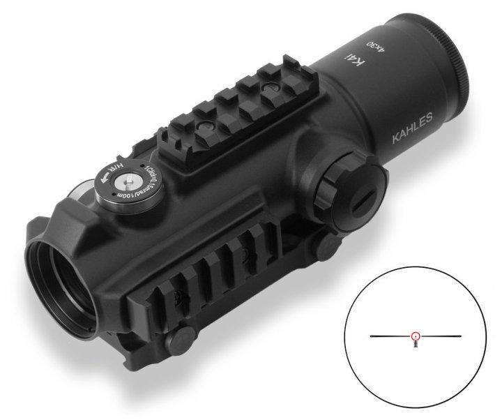 Прицел оптический KAHLES K 4i 4x30 Abs. Circle-Dot - изображение 1