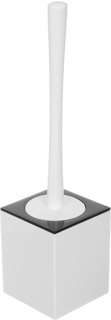 Ёршик для унитаза VANSTORE Куб TL2357W белый - изображение 1