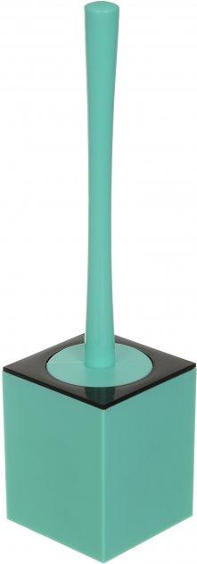 Йоржик для унітаза VANSTORE Куб TL2357BL синій - зображення 1