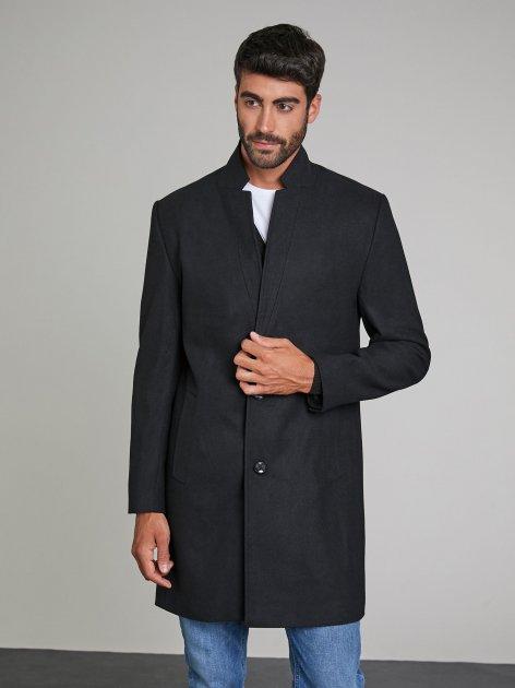 Пальто Piazza Italia 37516-3 52 Black (2037516001069) - зображення 1