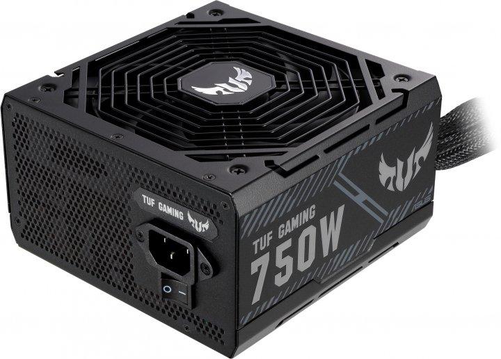 Блок живлення ASUS TUF Gaming 750 W 80+ Bronze (TUF-GAMING-750B) - зображення 1