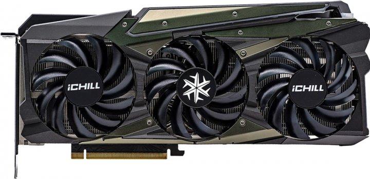 INNO3D PCI-Ex GeForce RTX 3070 iChill X4 8GB GDDR6 (256bit) (1785/14000) (HDMI, 3 x DisplayPort) (C30704-08D6X-1710VA35) - зображення 1