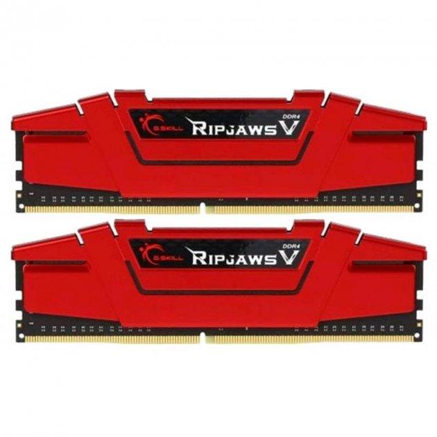 Модуль пам'яті DDR4 2x8GB/3600 G. Skill Ripjaws V Red (F4-3600C19D-16GVRB) - зображення 1