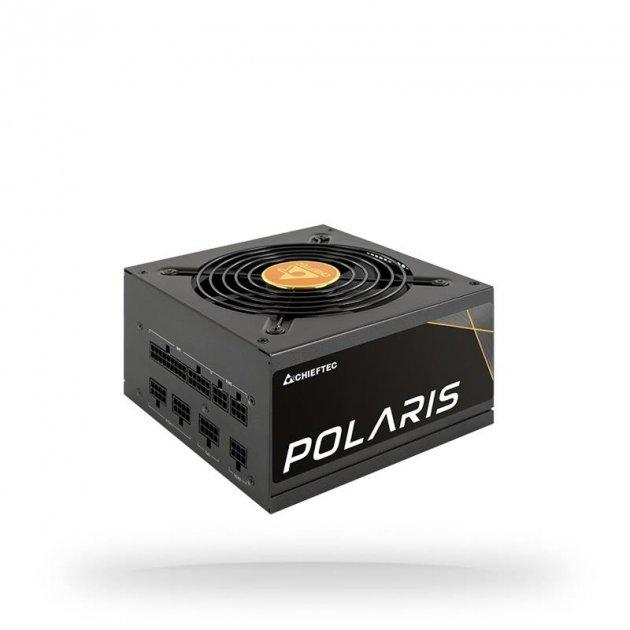 Блок живлення Chieftec PPS-650FC, ATX, APFC, 12cm fan, Gold, modular, RTL - зображення 1