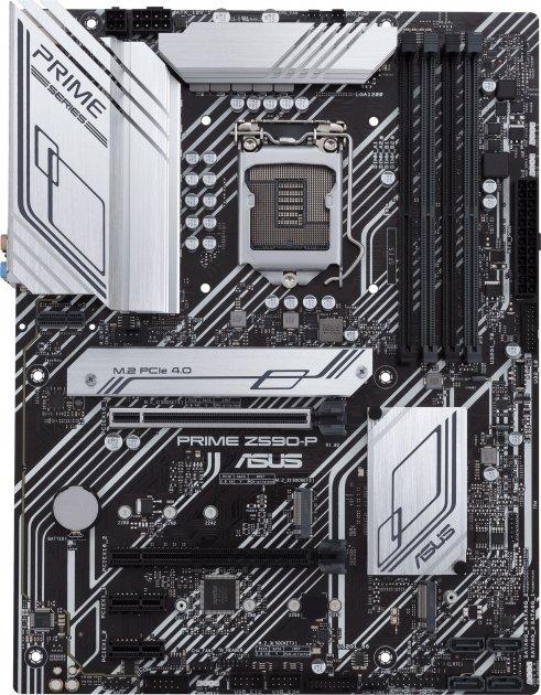 Материнская плата Asus Prime Z590-P (s1200, Intel Z590, PCI-Ex16) - изображение 1