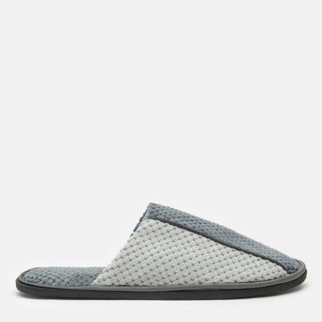 Комнатные тапочки FX shoes Дорис 18003 42-43 Серые (2820000009487) - изображение 1
