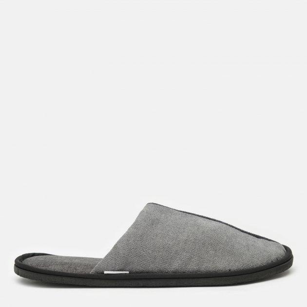 Комнатные тапочки FX shoes Портленд 19002 40-41 Серые (2820000009531) - изображение 1