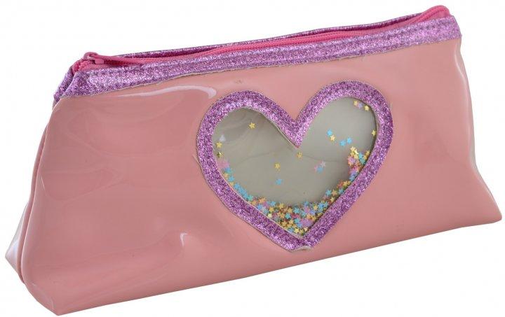 Пенал Yes Heart мягкий 1 отделение Розовый (532508) - изображение 1