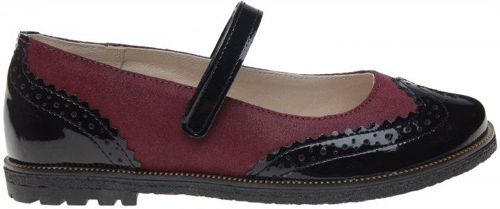 Туфлі шкіряні Bartek W-48637/SZ/L9 32 Бордові з чорним (200534911500000000010) - зображення 1
