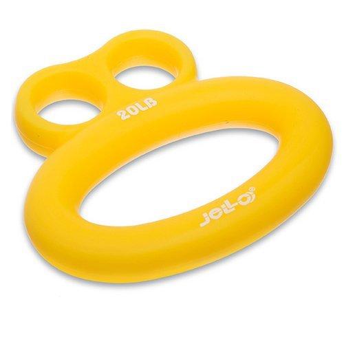 Эспандер кистевой Frog FI-1783 Jello 9кг Желтый (56457011) - изображение 1