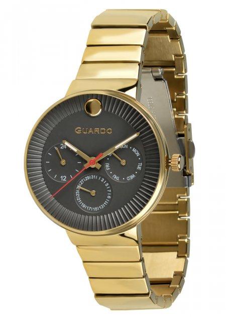 Годинники жіночі Guardo B01400-(1)-3 золоті - зображення 1
