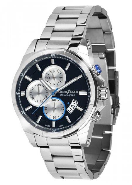 Часы мужские Goodyear G.S01225.02.01 серебряные - изображение 1