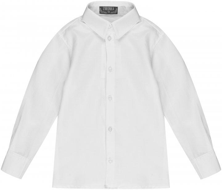 Сорочка Zironka Classic Boy 42-9003-1 146 см Біла (ROZ6205115692) - зображення 1
