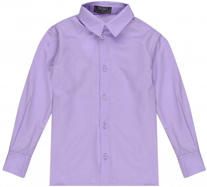 Рубашка Zironka Classic Boy 42-9003-4 122 см Сиреневая (ROZ6205115671) - изображение 1