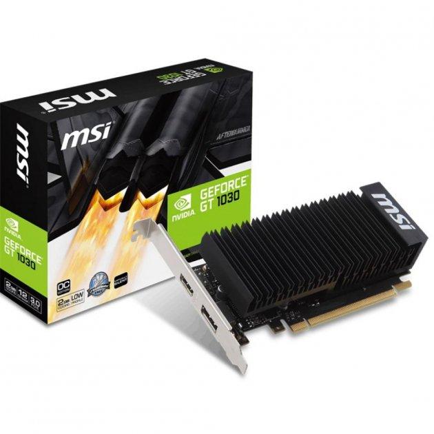 Відеокарта MSI GeForce GT1030 2048Mb Silent OC (GT 1030 2GH LP OC) - зображення 1