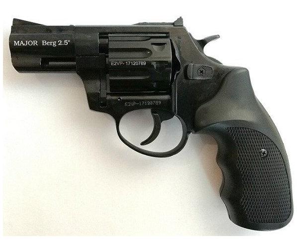 """Револьвер під патрон Флобера Ekol Major Berg 2.5 """"(Black) - изображение 1"""