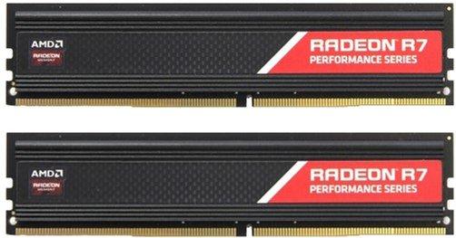 Оперативна пам'ять AMD DDR4-2400 16384MB PC4-19200 (Kit of 2x8192) R7 Performance Series (R7S416G2400U2K) - зображення 1