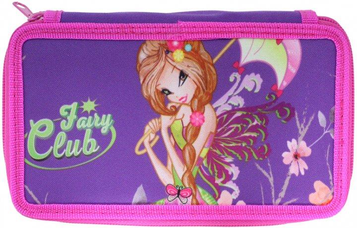 Пенал Class Fairy Club 2 отделения с наполнением (99605/8591662996050) - изображение 1
