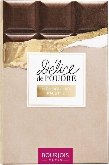 Палетка хайлайтерів Bourjois Delice de Poudre 18 г (3614227871854) - зображення 1