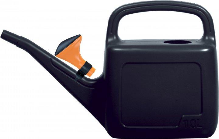 Садовая лейка Prosperplast AQUA 10 л Черная (5905197962580) - изображение 1